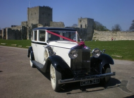 Vintage Rolls Royce for weddings in Fareham